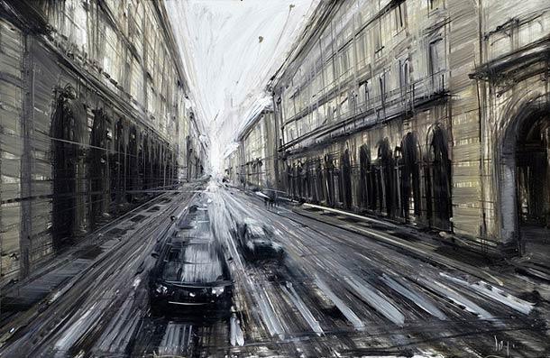 Городские пейзажи Valerio D'ospina16