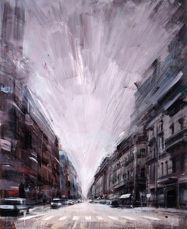 Городские пейзажи Valerio D'ospina17