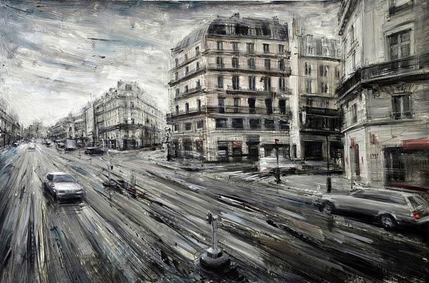 Городские пейзажи Valerio D'ospina18