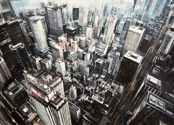 Городские пейзажи Valerio D'ospina8