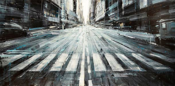 Городские пейзажи Valerio D'ospina9