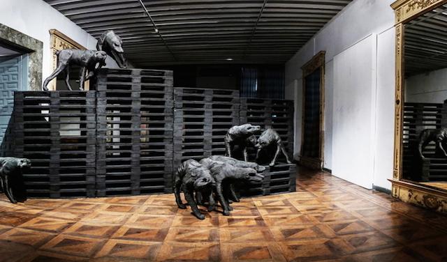 Концептуальные черные скульптуры Paolo Grassino11