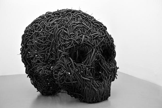 Концептуальные черные скульптуры Paolo Grassino21