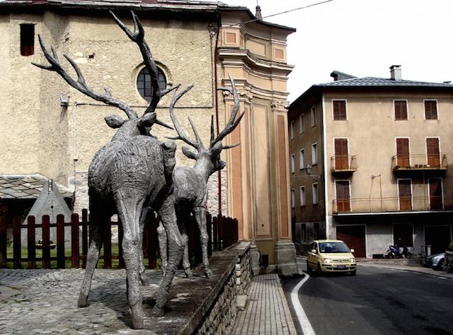 Концептуальные черные скульптуры Paolo Grassino8