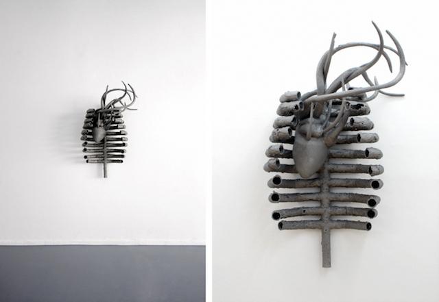Концептуальные черные скульптуры Paolo Grassino9