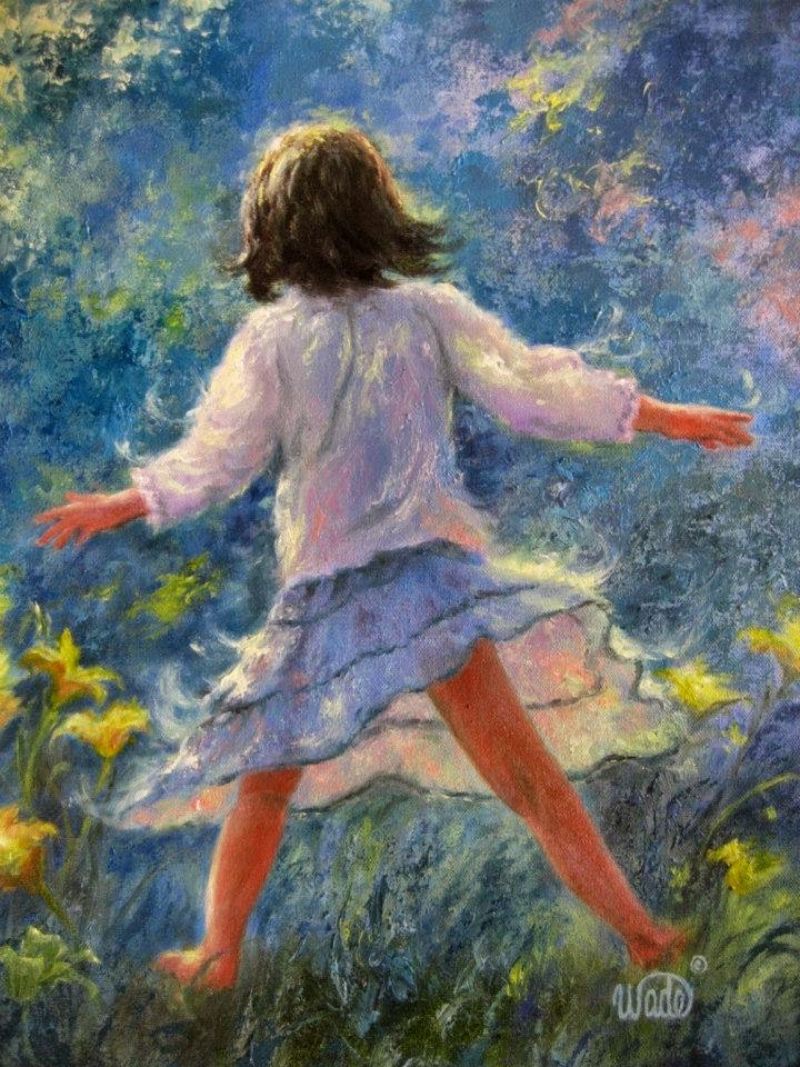 Ностальгические моменты в картинах Vickie Wade14