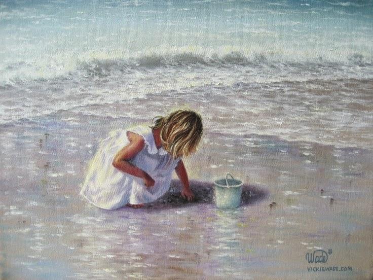 Ностальгические моменты в картинах Vickie Wade15