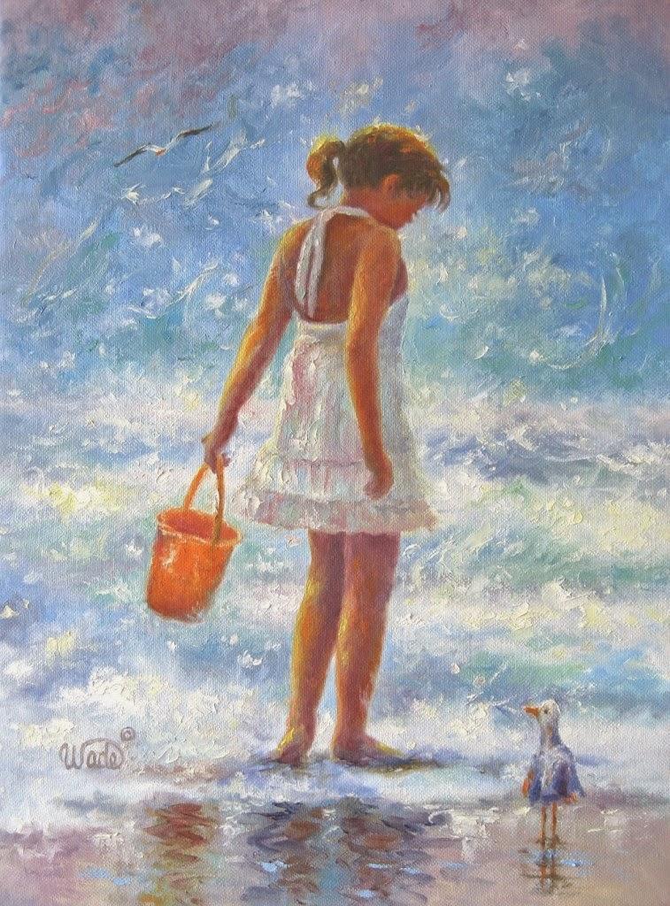 Ностальгические моменты в картинах Vickie Wade18