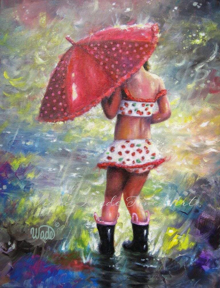 Ностальгические моменты в картинах Vickie Wade21