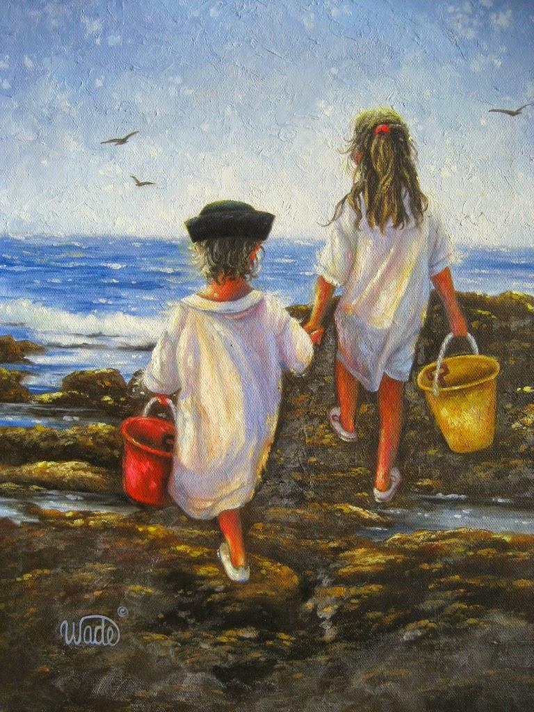 Ностальгические моменты в картинах Vickie Wade33
