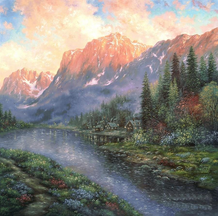 Ностальгические моменты в картинах Vickie Wade43