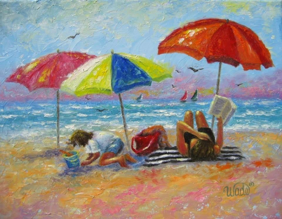Ностальгические моменты в картинах Vickie Wade45
