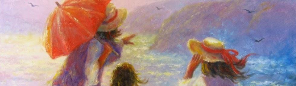 Ностальгические моменты в картинах Vickie Wade47