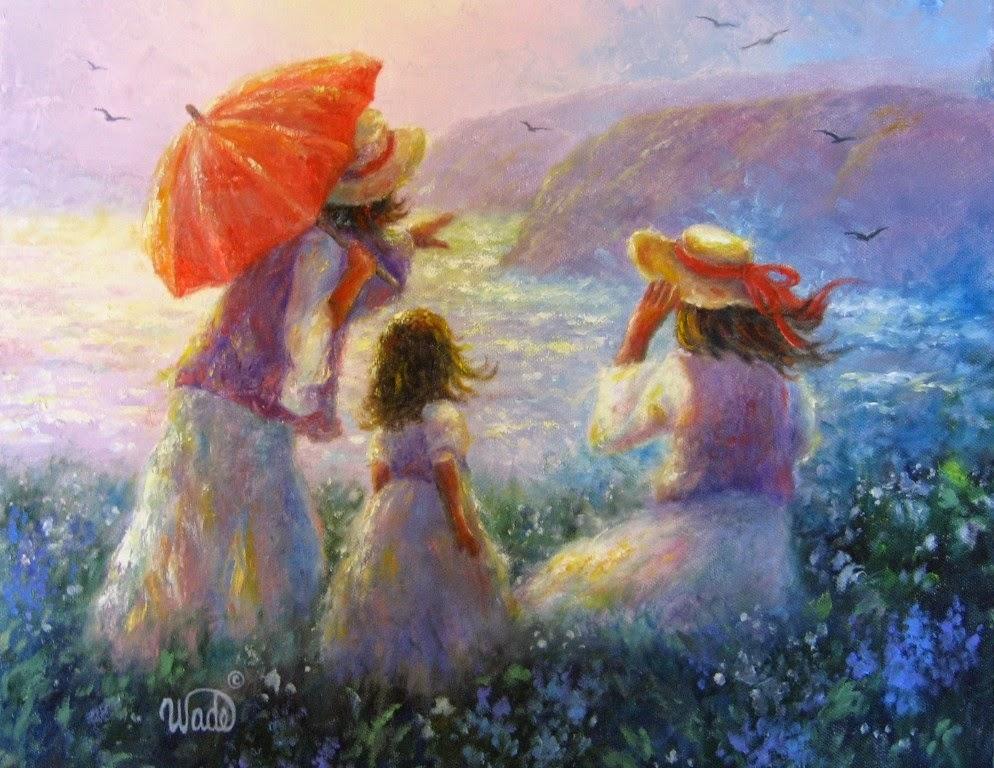 Ностальгические моменты в картинах Vickie Wade48