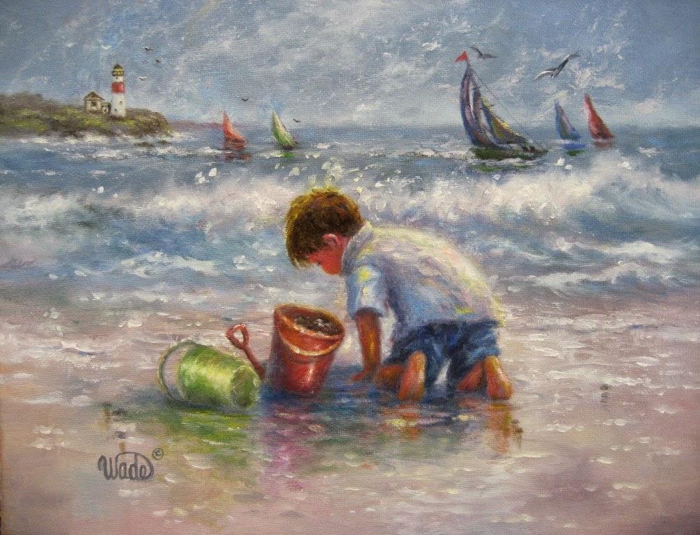 Ностальгические моменты в картинах Vickie Wade53