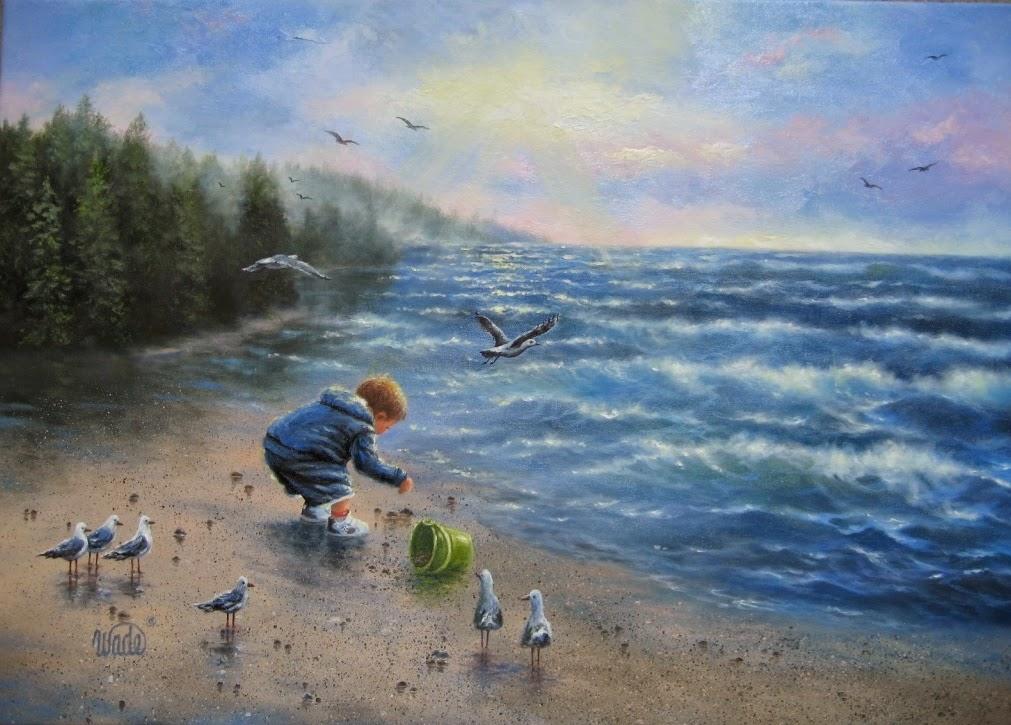 Ностальгические моменты в картинах Vickie Wade54