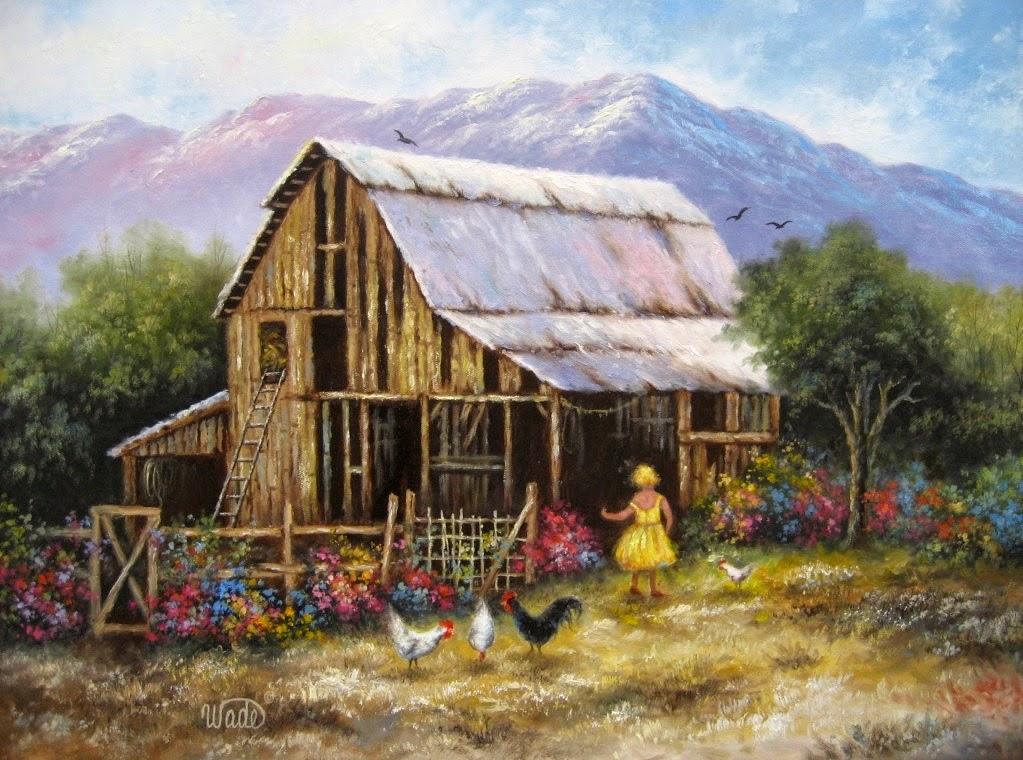 Ностальгические моменты в картинах Vickie Wade56