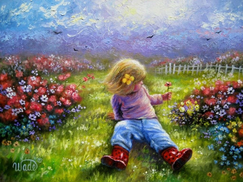Ностальгические моменты в картинах Vickie Wade64