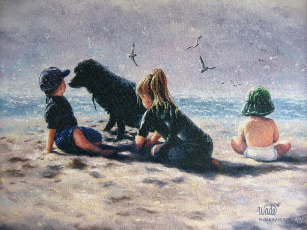 Ностальгические моменты в картинах Vickie Wade66