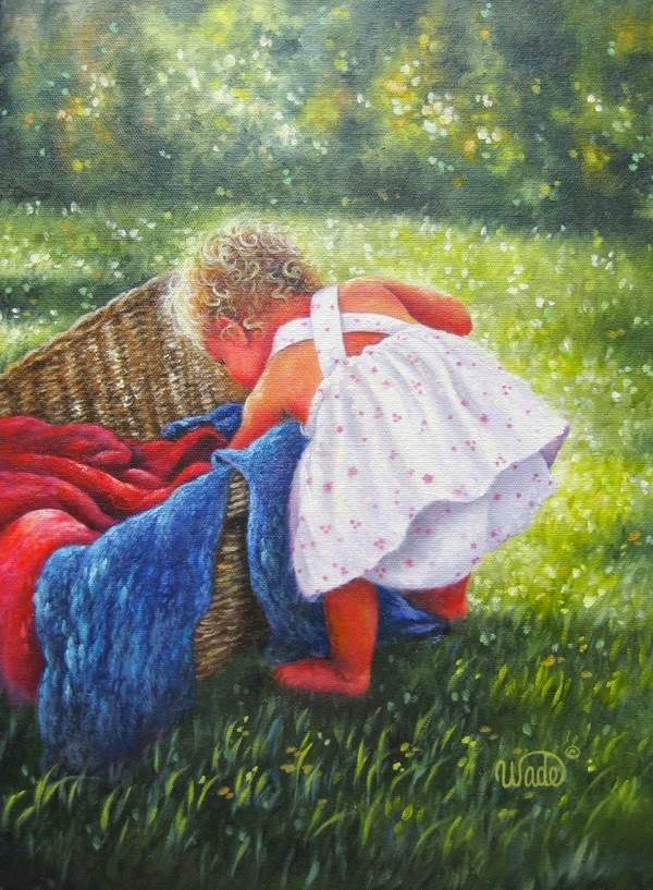 Ностальгические моменты в картинах Vickie Wade8