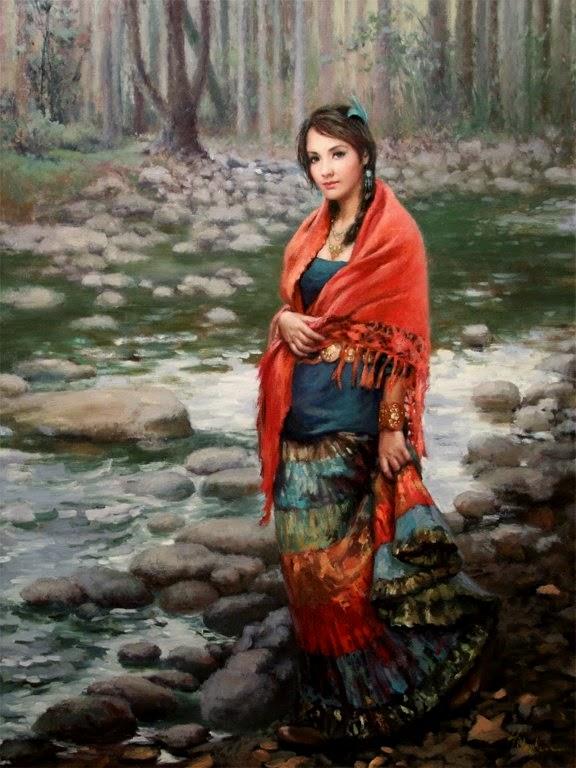 Природная красота в картинах H. Momo Zhou2