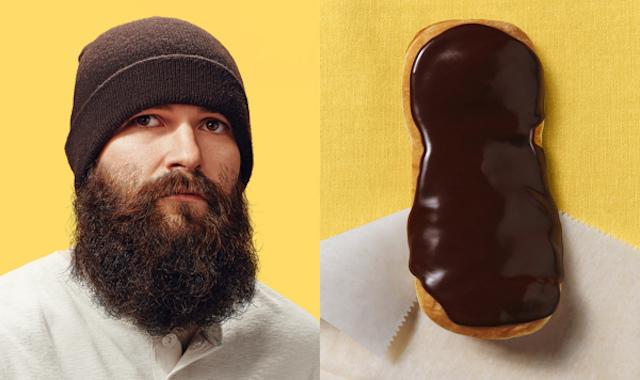 Схожесть человека и пончика на фотографиях Brandon Voges4