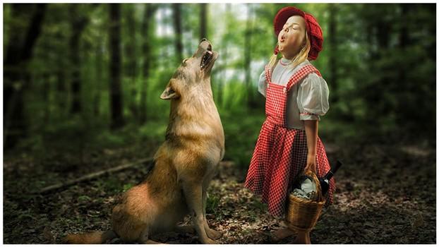 Сумасшедшие детские фото манипуляции John Wilhelm