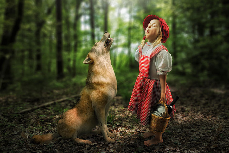 Сумасшедшие детские фото манипуляции John Wilhelm1