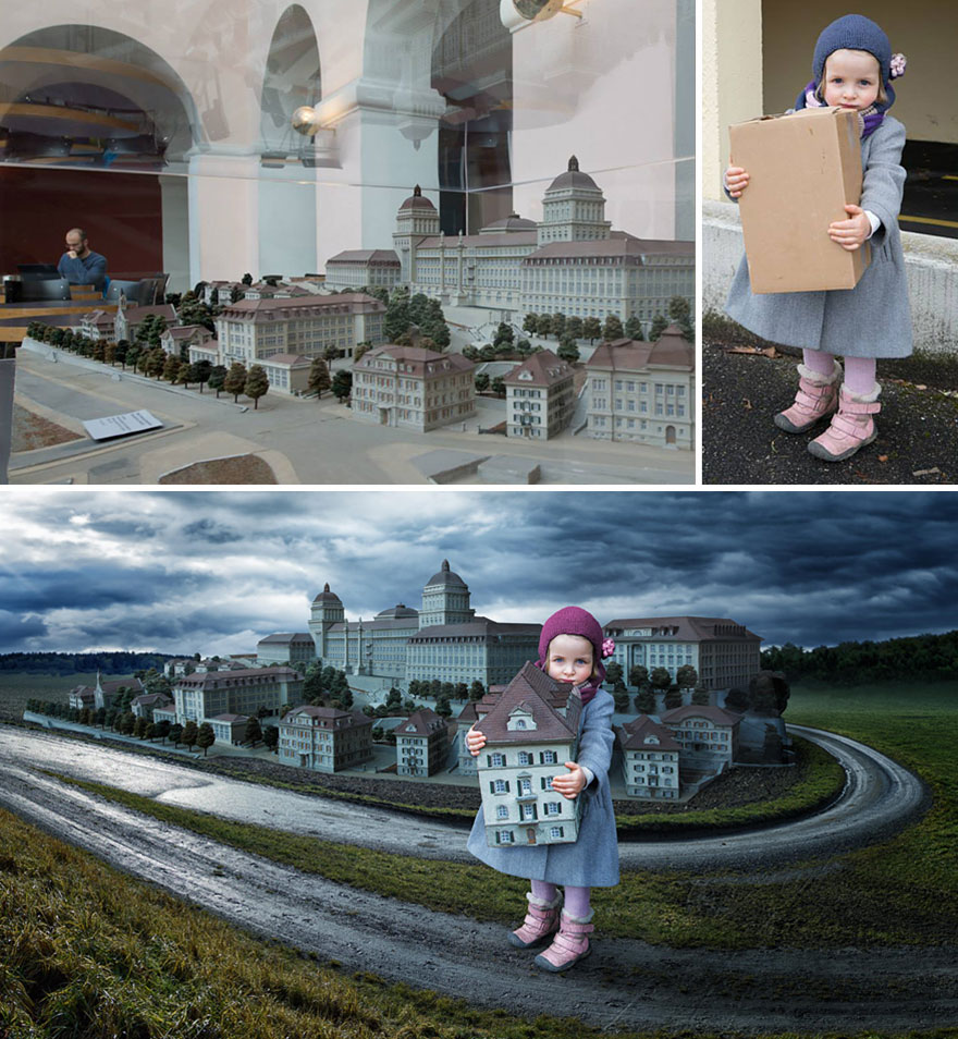 Сумасшедшие детские фото манипуляции John Wilhelm22