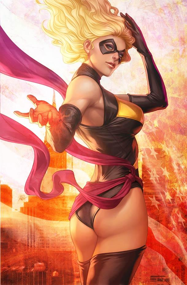 Супергероини в стиле пин-ап художника Artgerm11
