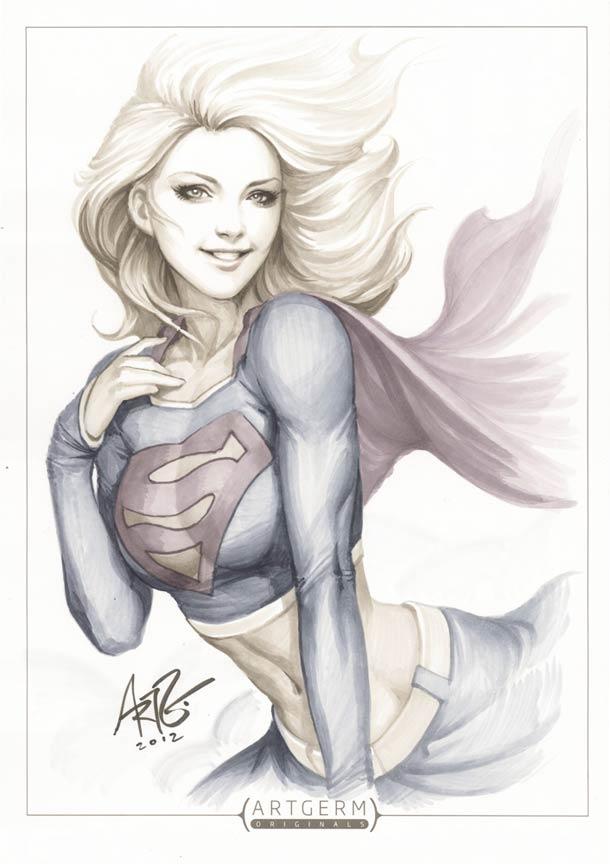 Супергероини в стиле пин-ап художника Artgerm3