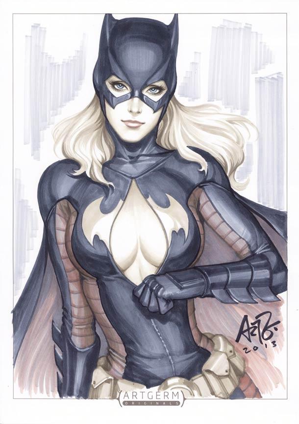 Супергероини в стиле пин-ап художника Artgerm6