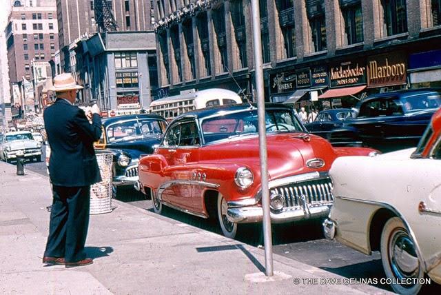 Улицы США в 1950- 60-х годов на фотографиях Dave Gelinas1