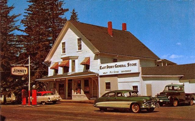 Улицы США в 1950- 60-х годов на фотографиях Dave Gelinas15