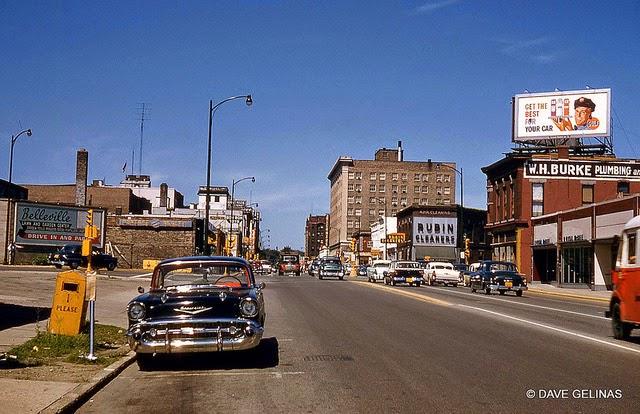 Улицы США в 1950- 60-х годов на фотографиях Dave Gelinas24