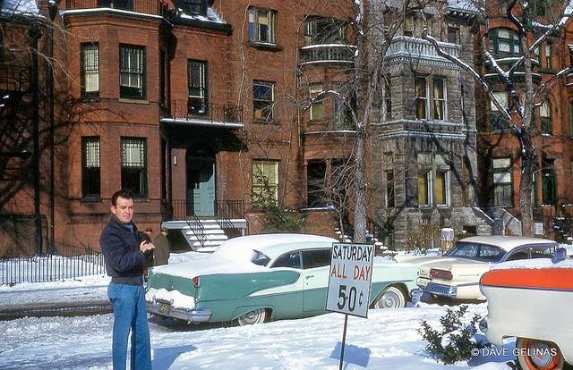 Улицы США в 1950- 60-х годов на фотографиях Dave Gelinas36