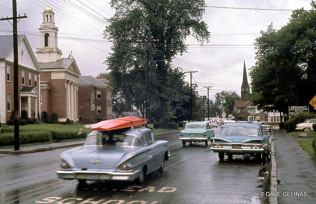 Улицы США в 1950- 60-х годов на фотографиях Dave Gelinas42