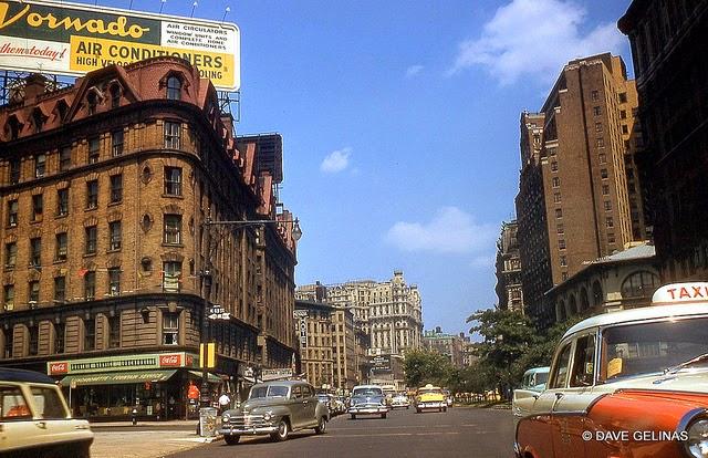 Улицы США в 1950- 60-х годов на фотографиях Dave Gelinas6