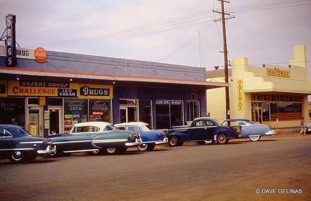 Улицы США в 1950- 60-х годов на фотографиях Dave Gelinas9