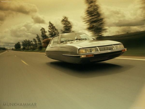 Летающие автомобили на фотографиях Джекоба Мунхаммара 7