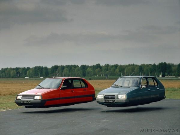 Летающие автомобили на фотографиях Джекоба Мунхаммара 8