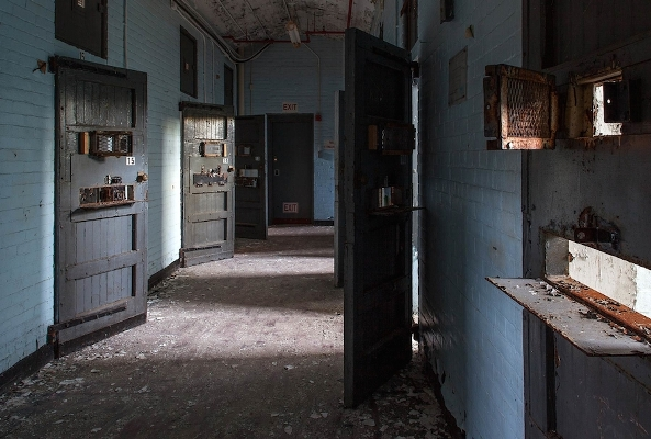Американские психиатрические больницы на фотографиях Jeremy Harris 20