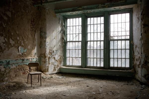Американские психиатрические больницы на фотографиях Jeremy Harris 21