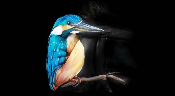 Боди-арт рисунки Gesine Marwedel 19
