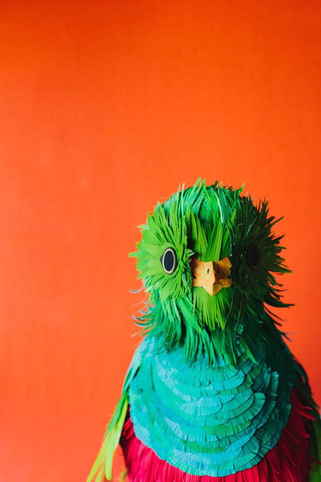 Бумажные скульптуры птиц Diana Beltran Herrera 17