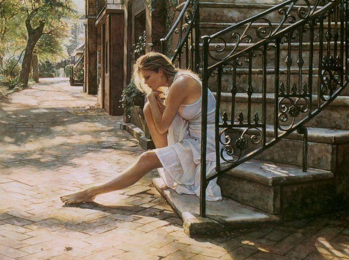 Эмоционально-яркая акварель Стива Хэнкса   31