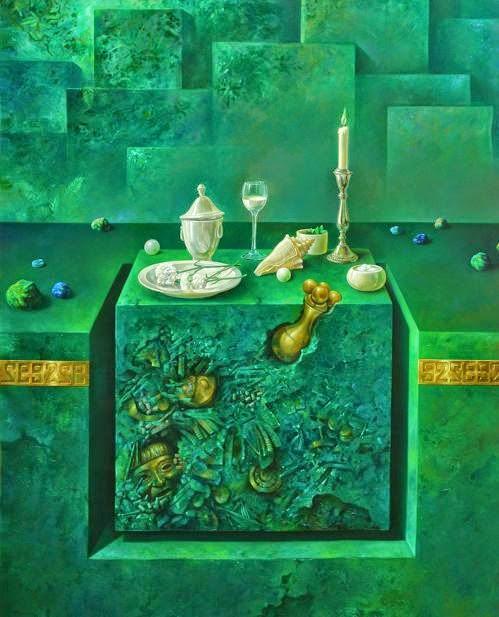 Фантастический реализм художника Альберто Панкорбо 10