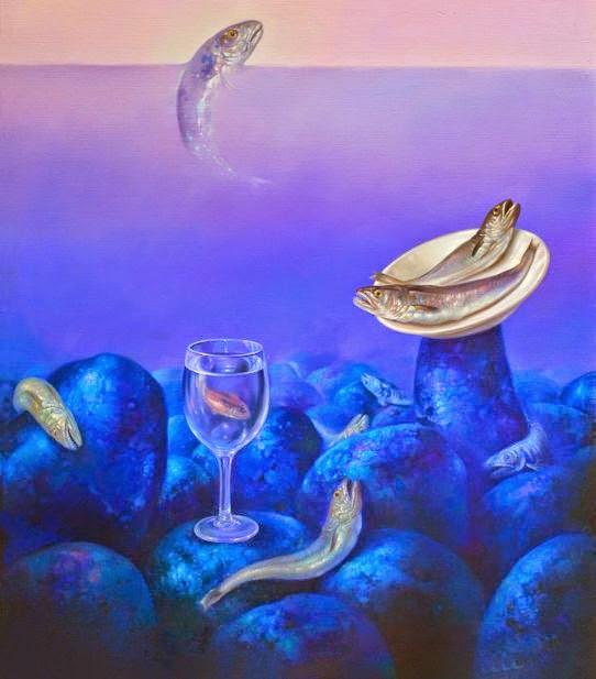 Фантастический реализм художника Альберто Панкорбо 15