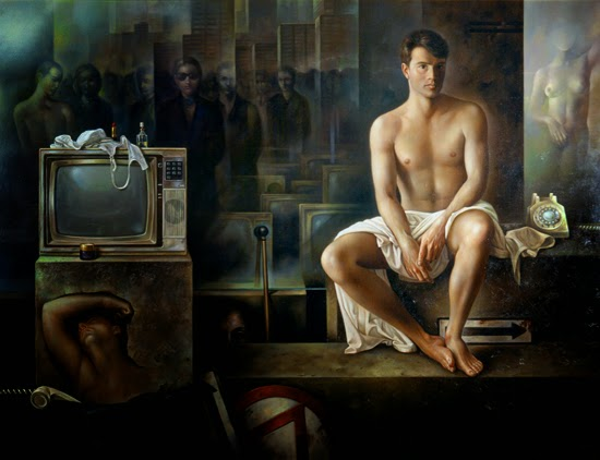 Фантастический реализм художника Альберто Панкорбо 17