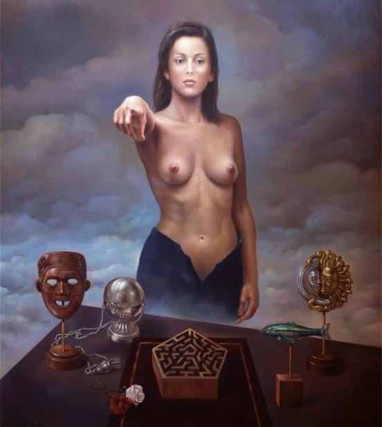Фантастический реализм художника Альберто Панкорбо 19